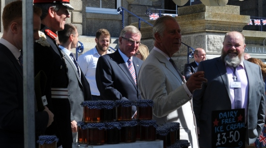 Prince Charles in Penzance 00012
